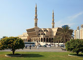 King Faisal Mosque. Sharjah. — Stock Photo