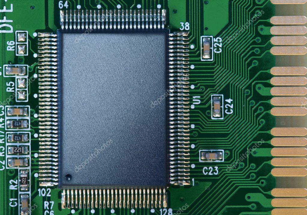 电路板上的芯片