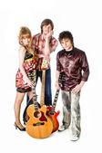Music rock-band — Stock Photo