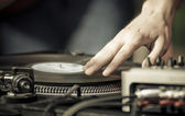 Deejaying — Stock Photo