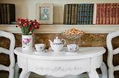 Dinner Room in Luxury Home — Stock Photo