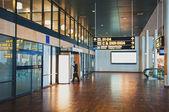 Flight information board — Stock Photo