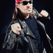 Rock star — Stock Photo