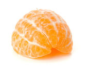 Ripe tangerine segments — Stock Photo