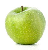 A ripe green apple — Stock Photo