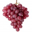 Fresh red grapes branch — Stock Photo