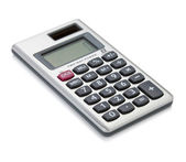 Small digital calculator — Stockfoto