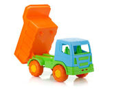 Color toy car — Stock Photo
