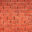 Red brick wall background - Photo