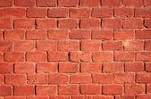 Fond de mur de brique rouge — Photo
