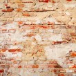 Old grungy brick wall background — Stock Photo