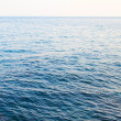 Calm sea extending to the horizon — Stock Photo