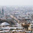 Winter view of Lviv, Ukraine central part - Stockfoto