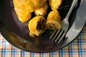 Stuffed cabbage rolls — Stock Photo