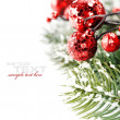 Bright christmas composition — Foto de stock #4097567