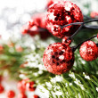 Bright christmas composition — Foto Stock