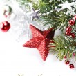Stock Photo: Bright christmas composition