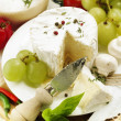 Stock Photo: Delicatessen cheese