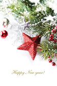 Brillante composición de navidad — Foto de Stock