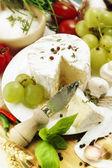 Delicatessen cheese — Stock Photo