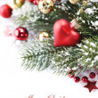 Bright christmas composition — Stock Photo