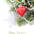 Bright christmas composition — Stock Photo #4211418