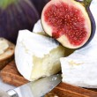 Royalty-Free Stock Photo: Cheese and figs
