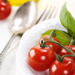 Fresh cherry tomatoes — Stock Photo #4425183