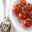 Fresh cherry tomatoes — Stock Photo #4454439