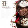 Stock Photo: Variety of rice