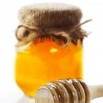 Honey pot — Stock Photo