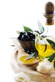 Oliwki i oliwa z oliwek — Zdjęcie stockowe