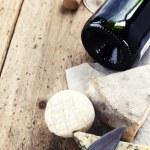 Wine and cheese — Stock Photo #5179366