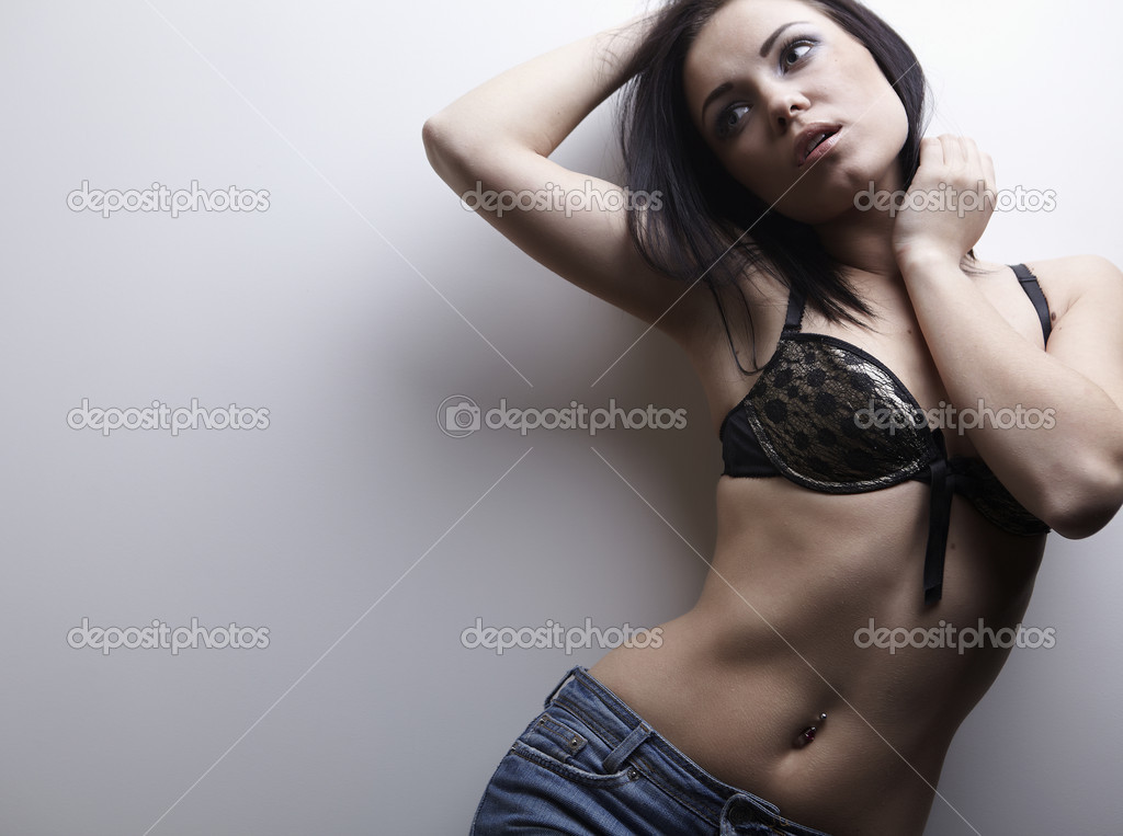 Underwear fashion portrait — Stock Photo #4775265