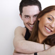 Young beautiful couple in love. — Stock Photo