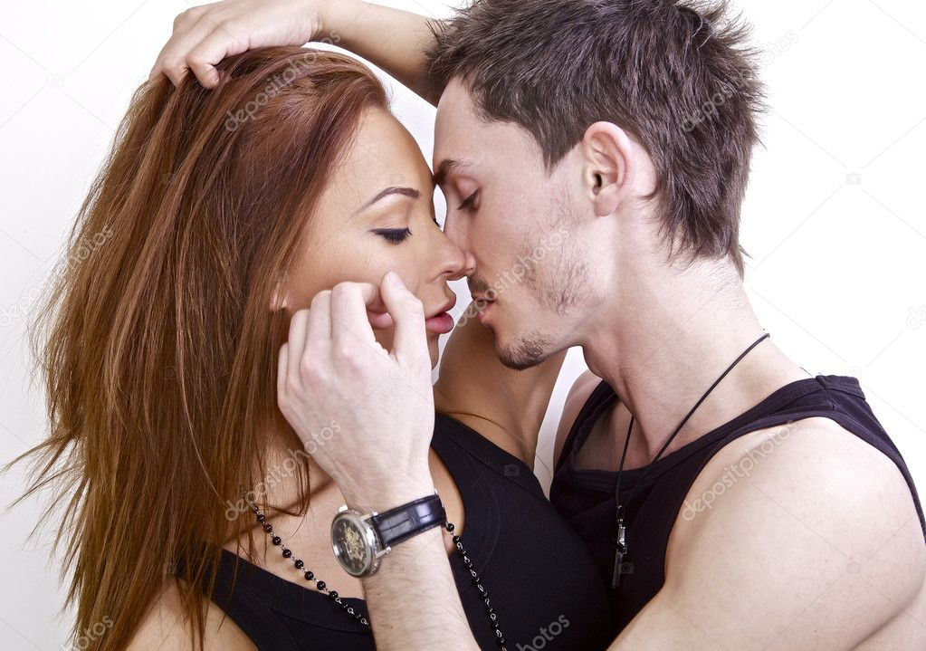 Young beautiful couple in love. Photo. — Stock Photo #5050995