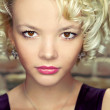 Young blond woman portrait. - Lizenzfreies Foto
