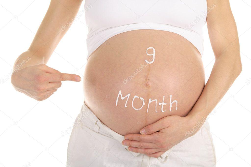 Почему болит живот на 9 месяце беременности