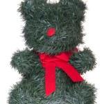 Christmas teddy bear — Stock Photo