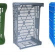 Colorful crates — Stock Photo