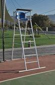 Tennis referee chair — Stock Photo