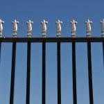 Gate sky — Stock Photo