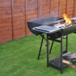 Outdoor barbecue grill — Stock Photo