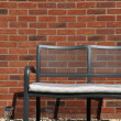 Garden bench - Stockfoto