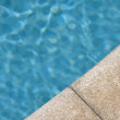 Swimming pool side — Stock Photo