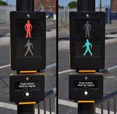 Pedestrian traffic lights — Stock Photo