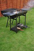 Utegrill grill — Stockfoto