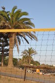 Beach volleyball — Stockfoto