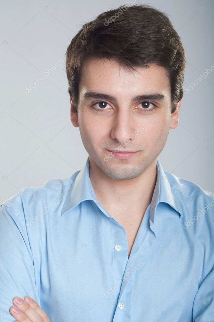 Portrait of a confident young trainee starting business career — Foto Stock #5362993