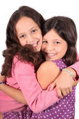 Sweet little sisters — Stock Photo